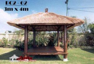 Gazebo 3×4 Meter Atap Alang Alang