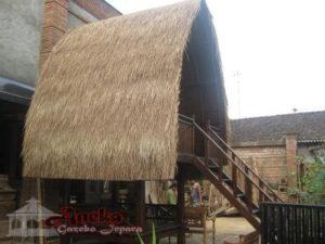 Gazebo Panggung Atap Alang Alang