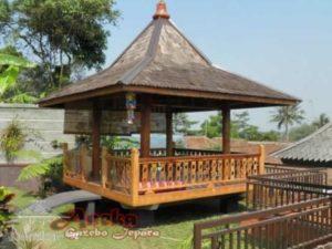 Gazebo Taman Mewah