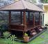 Gazebo Besar Kolam Rumah Minimalis