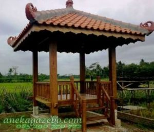 Gazebo Antique Clasik Kuno