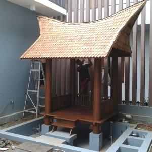 50+ Desain Gazebo Glugu Atap Modern | Rumah Padang | Gazebo Atap Padang | Jual Murah